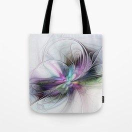 New Life, Abstract Fractals Art Tote Bag