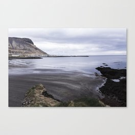 Iceland Coast on Snaefellsnes Penninsula Canvas Print