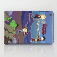 avenger iPad Cases featuring Avenger Time! by Det Guiamoy