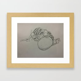 Top View Framed Art Print