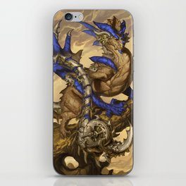 Zodiac Dragons Calendar Scorpio iPhone Skin