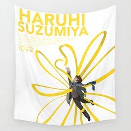 The Disappearance of Haruhi Suzumiya Wall Tapestry