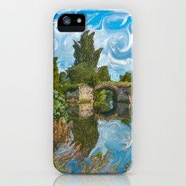 Warwick Castle Bridge River And Trees iPhone Case