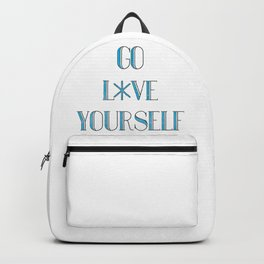 Go Love Yourself Backpack