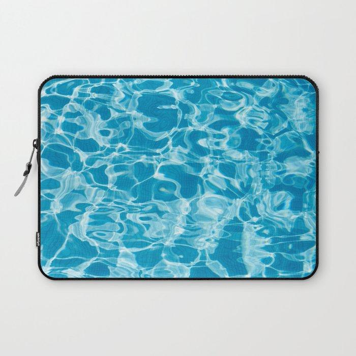 Geometric Pool Me - Retro Pool - Laptop Sleeve