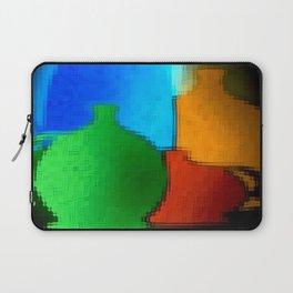 Colored jugs. Laptop Sleeve