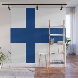 Flag of Finland 1 -finnish, Suomi, Sami,Finn,Helsinki,Tampere Wall Mural