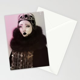 Russian empress Stationery Cards