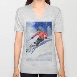 Winter Sport Unisex V-Neck