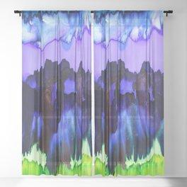 Blue Sky Sheer Curtain