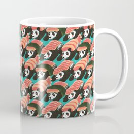 Sushi Panda Pattern Coffee Mug