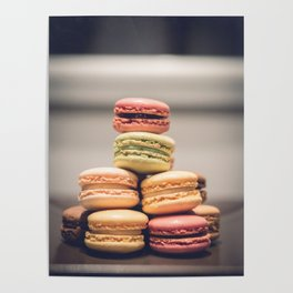 Macaron Delights Poster