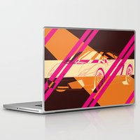 lamborghini Laptop & iPad Skins featuring Lamborghini Abstract by AEComics