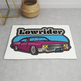 Lowrider Car Rug