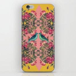 Love Birds II (yellow version) iPhone Skin