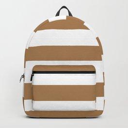 Horizontal Stripes Pattern: Ginger Backpack