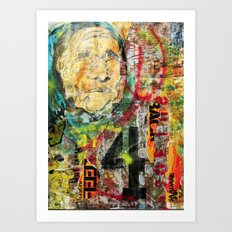 War & Peace Art Print