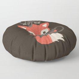 In Coffee We Trust Floor Pillow