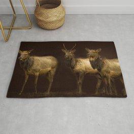 Three Elk Rug