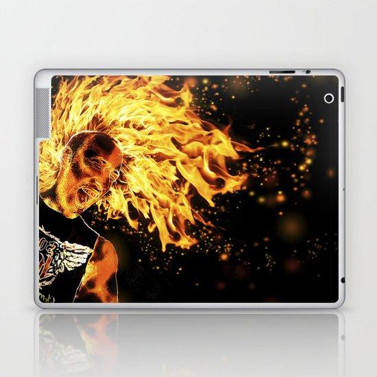I am the Fire Starter. Laptop & iPad Skin
