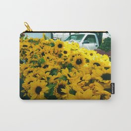 Farmer's Market Flowers Carry-All Pouch
