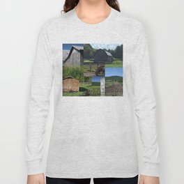 Barn Collage Long Sleeve T-shirt