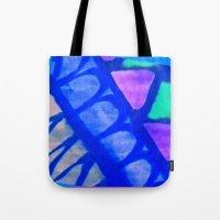 batik Tote Bags featuring Batik by Susan Laine Studios