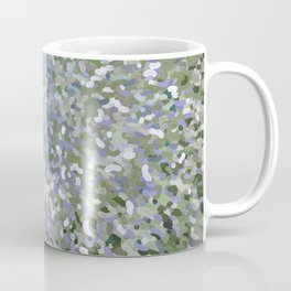 Sage and Lilac Waves Juul Art Coffee Mug