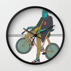 Lets Ride Wall Clock