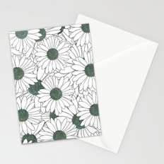 Daisy Mint Stationery Cards