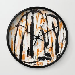 Commas Wall Clock