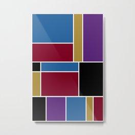Abstract #419 Metal Print
