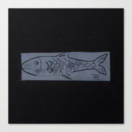 laying fish Canvas Print