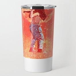 Threw the rose Travel Mug