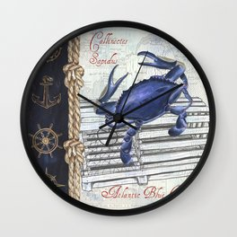 Vintage Nautical 1 Wall Clock