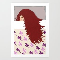 the sleeper Art Print