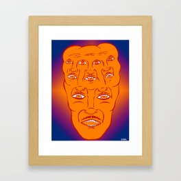MY PSYCHEDELIC SERIES Framed Art Print