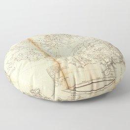 Map of China Chinese-Tartary & Tibet (1834) Floor Pillow