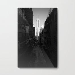 Hong Kong - Soho Metal Print