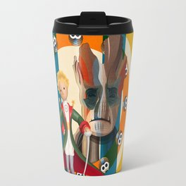 The Little Prince, Groot and owls  Travel Mug