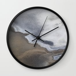 Death Valley Salt Flats Wall Clock