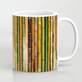 Bamboo fence, texture Coffee Mug
