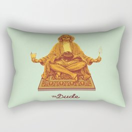 The Lebowski Series: The Dude Rectangular Pillow