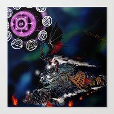 Doomtrain Diablos Canvas Print