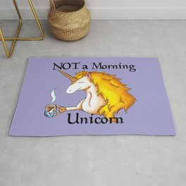 NOT a Morning Unicorn Rug