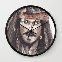 Black Pearl's Capt. Jack Sparrow Wall Clock