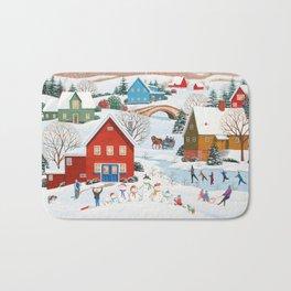 Snow Family Bath Mat