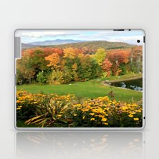 Vermont Foliage Watercolor Laptop & iPad Skin