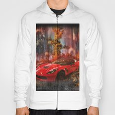 Driving Into A Strange New World Hoody