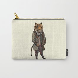 Animals in Suits - Sumatran Tiger Carry-All Pouch